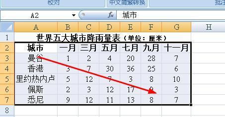 word中如何编辑excel图表
