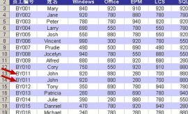 怎样快速删除Excel 2003表格中的重复数据