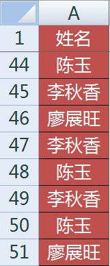 excel如何快速统计一列中相同数值出现的个数